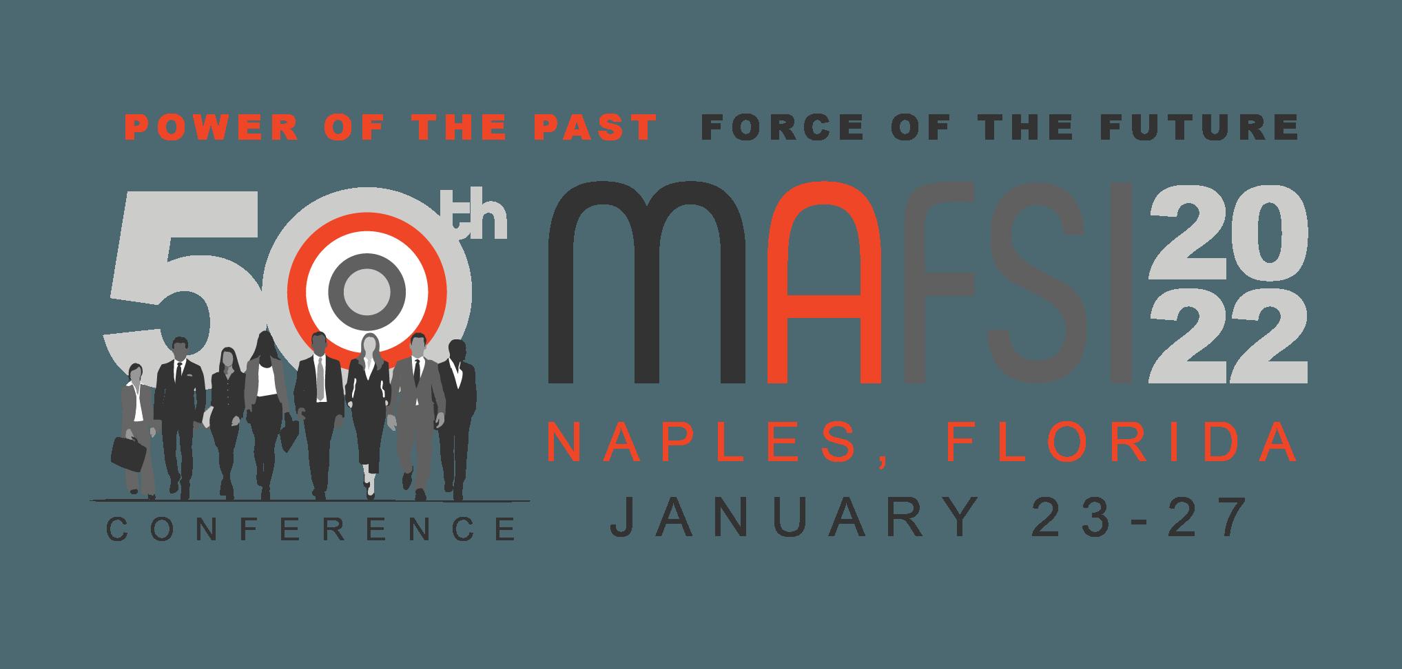 MAFSI '22 Conference Logo